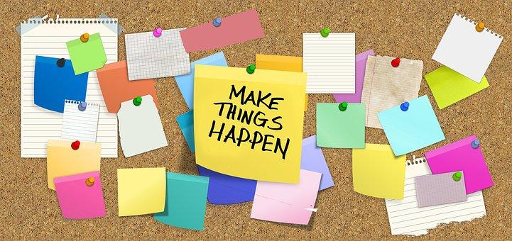 Szükség van az otthonunkban motivációs vagy tervező falra?