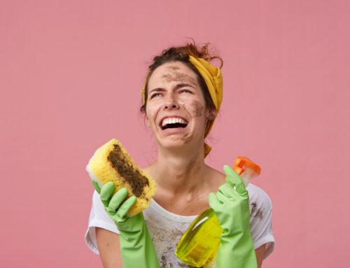 Minimalista takarítás elfoglalt nőknek