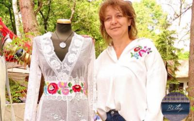 Újrahasznosítás a Réthy Fashion műhelyében