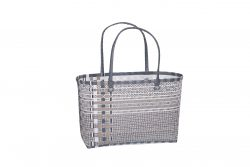 Stina Kicsi bevásárlótáska ezüst