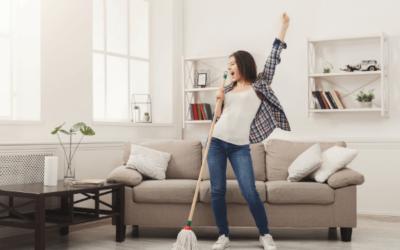 Gyors takarítás, ha nincs időd rendesen kitakarítani.